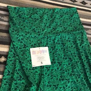 LuLaRoe Small Green Maxi dress